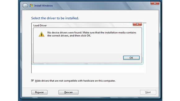 Troubleshooting Driver Signing Installation