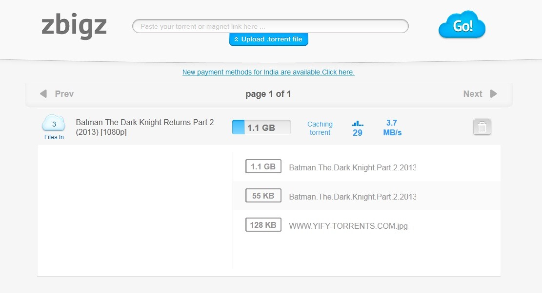 how to initiate torrent download using idm