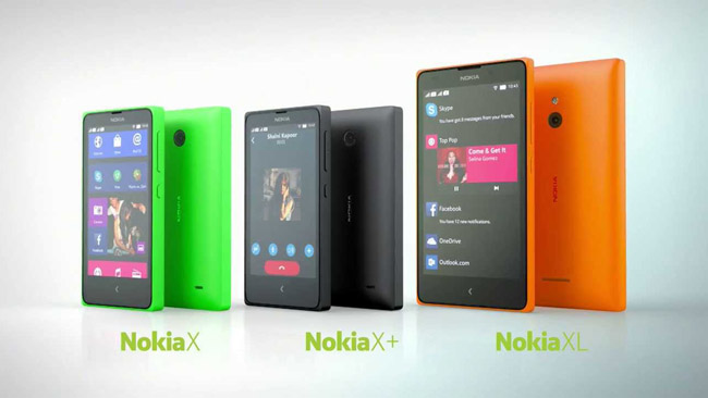Difference between Nokia X and Nokia X+